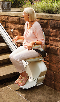 Outdoor Stairlift from Acorn Stairlifts